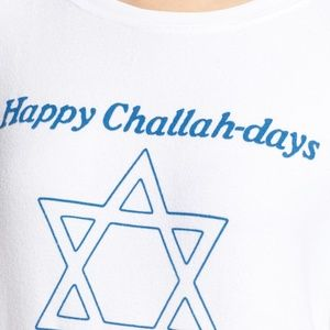 Wildfox Happy Challah-days Chanukah BBJ Sweatshirt